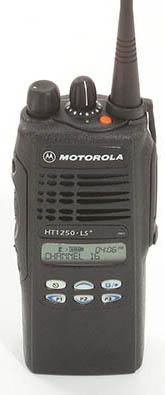 Action Communications: Motorola HT1250 LS+, UHF, 16 Channel