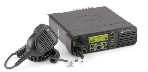 Motorola XPR4550, MotoTrbo Digital, VHF, 45 Watt, Mobile