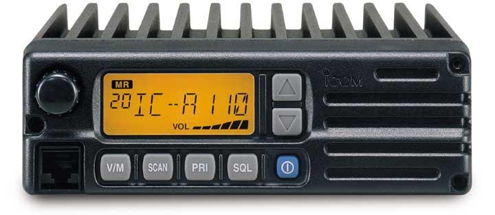Icom IC-A110 04 Air Band Transceiver, Mobile.
