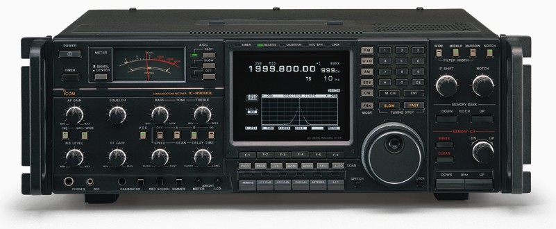 Icom IC-R9000L, 1000 Channel, .100-1999.800 Mhz Receiver for Government Use Only